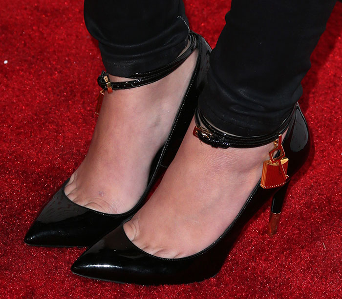 Cher-Lloyd-Tom-Ford-Padlock-Ankle-Wrap-Pumps