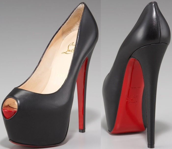 Christian Louboutin Highness Sky-High Highness Platform Pumps