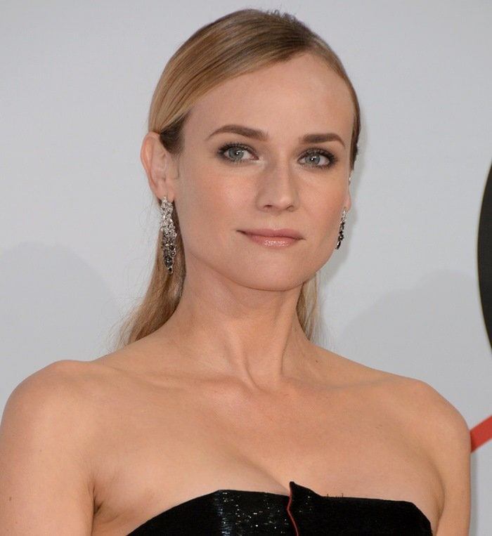 Diane Kruger accessorized with Monique Péan jewelry