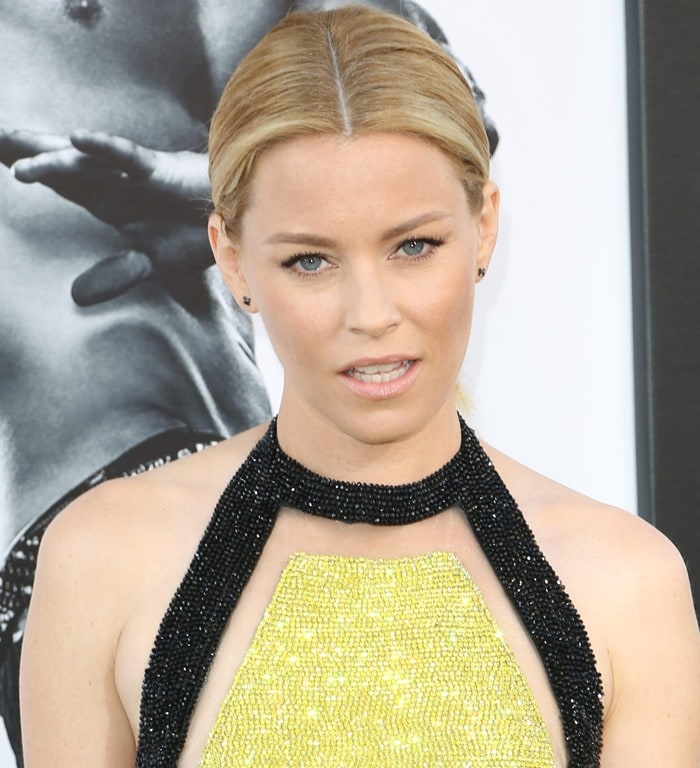 "Elizabeth Banks at the premiere of ""Magic Mike XXL"""