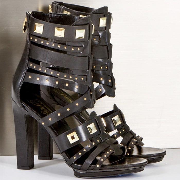 Fergie Bonnie Dress Pump Black