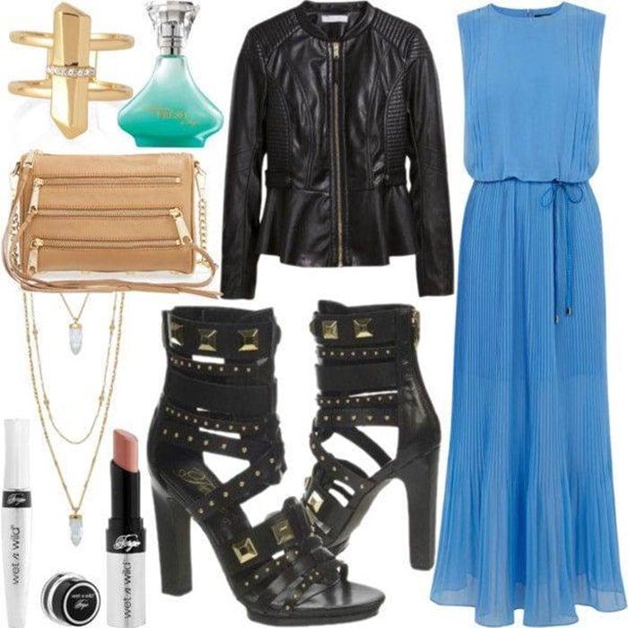 Fergie Bonnie Dress Pump Outfit 2