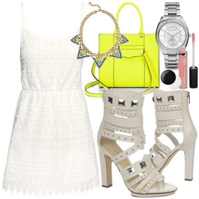 Fergie Bonnie Dress Pump Outfit 3