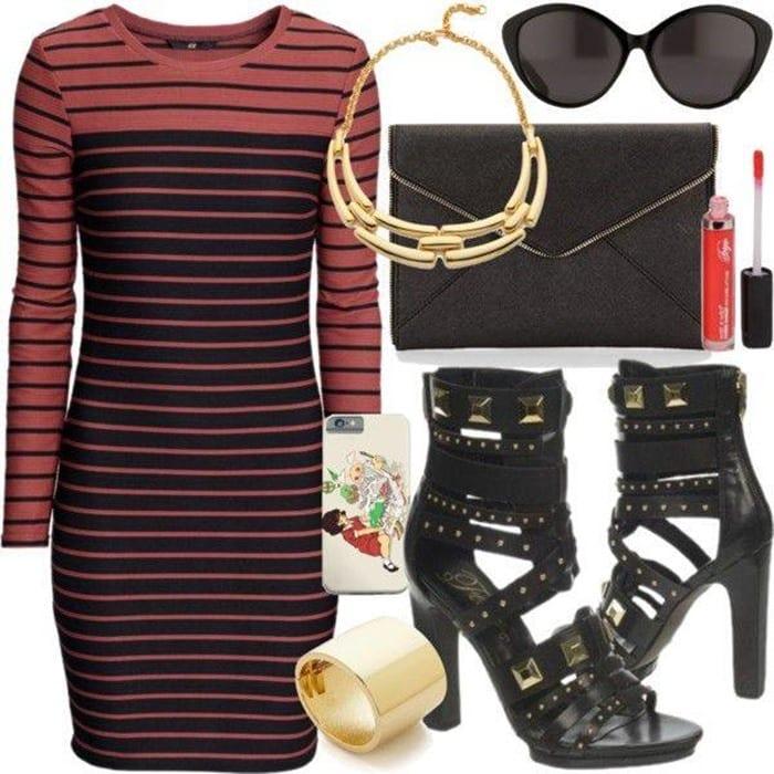 Fergie Bonnie Dress Pump Outfit 4