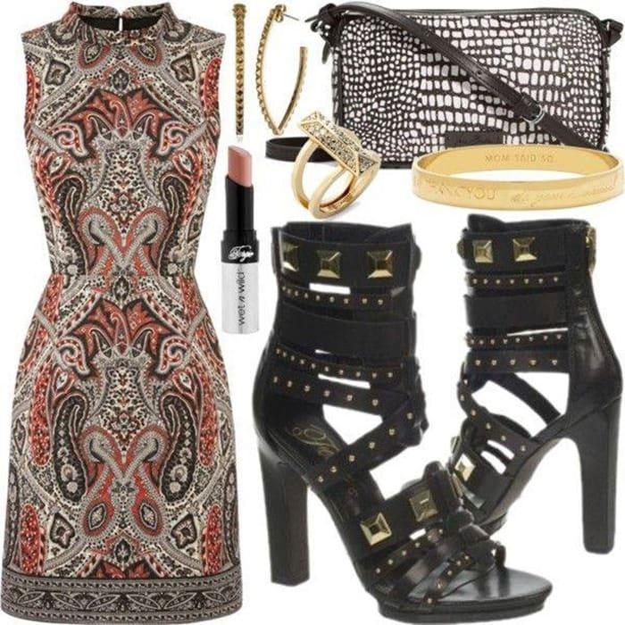 Fergie Bonnie Dress Pump Outfit