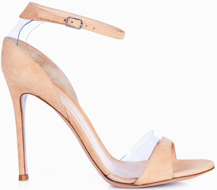 Gianvito RossiNatalie Suede and PVC Sandals
