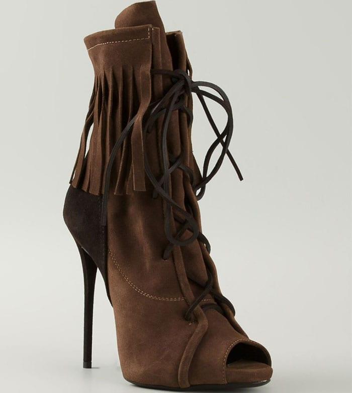 Giuseppe-Zanotti-khaki-fringe-laceup-boots