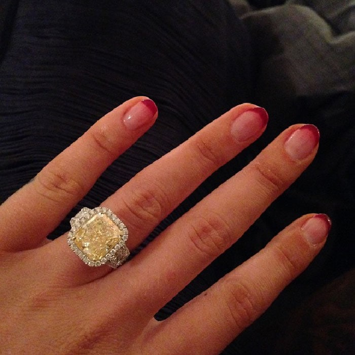 Iggy Azalea's Jason of Beverly Hills engagement ring from Nick Young