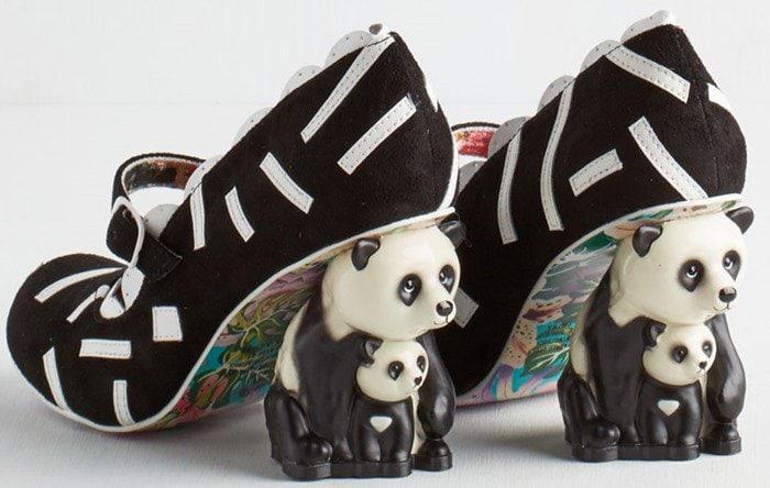 Irregular Choice Panda Heel