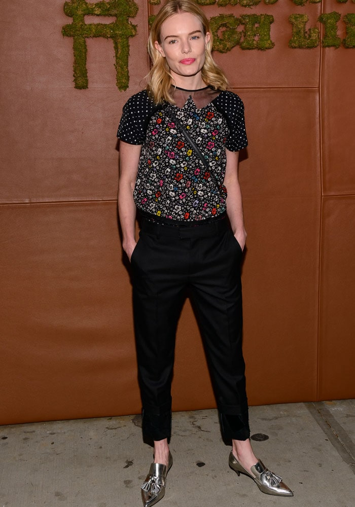 Kate Bosworth Coach Tasseled Heels 3