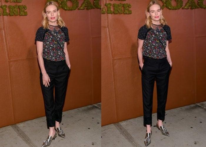 Kate Bosworth Coach Tasseled Heels 4