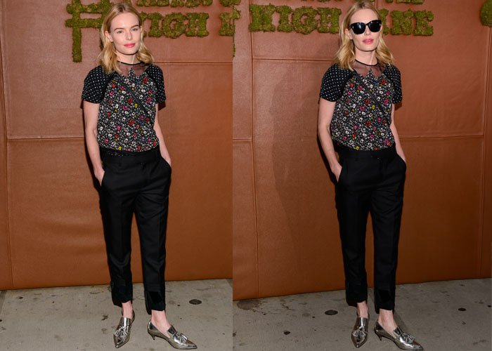 Kate Bosworth Coach Tasseled Heels 6