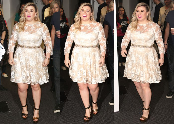 Kelly Clarkson has proclaimed that her weight does not define her