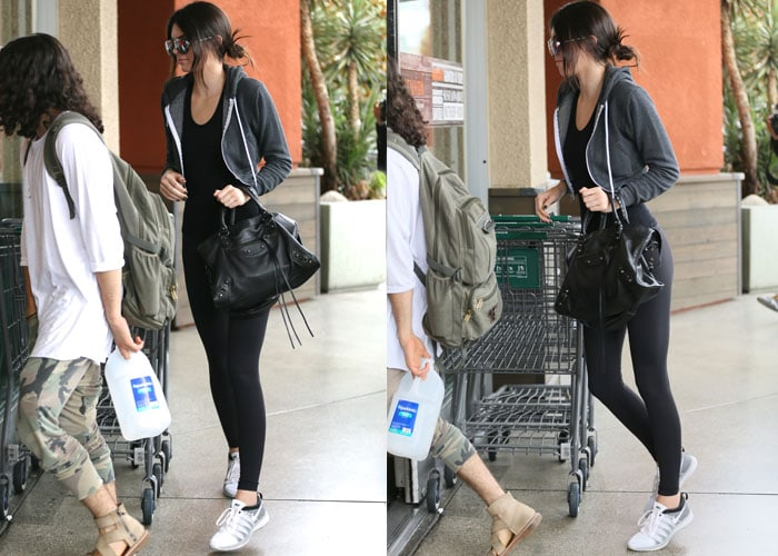Kendall Jenner food shopping at the organic supermarket, Erewhon in West Hollywood on June 4, 2015