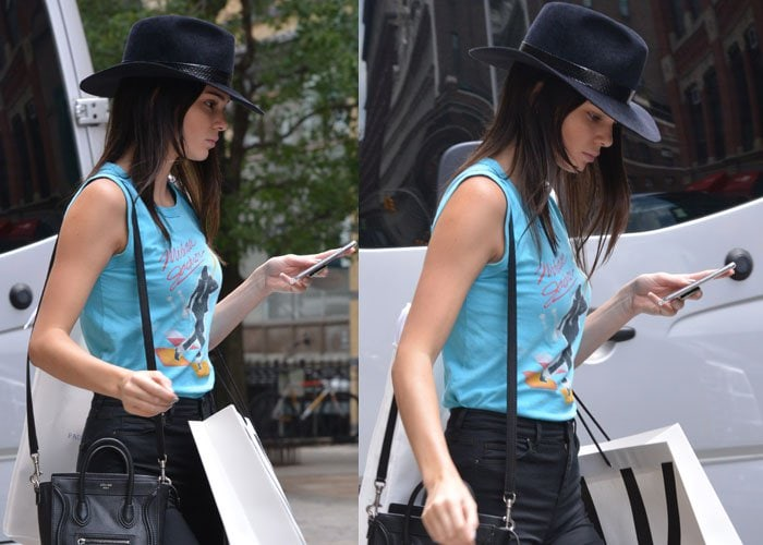 Kendall Jenner got inked with two boys from the megachurch Hillsong NYC