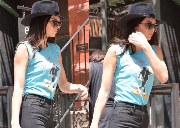 Kendall Jenner got inked despite Kim Kardashian's objections