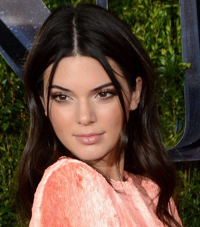 Kendall Jenner at the 2015 Tony Awards at Radio City Music Hall in New York City on June 7, 2015