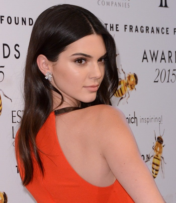 Kendall Jenner at the 2015 Fragrance Foundation Awards in New York City on June 18, 2015