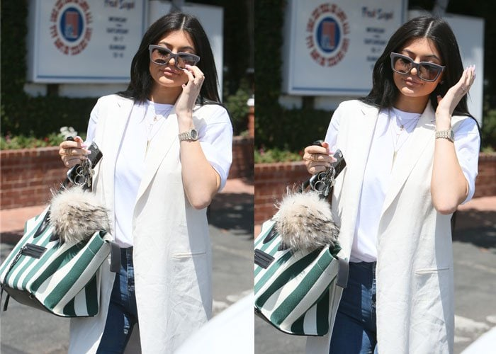 Kylie Jenner has denied that she'll be launching a music career
