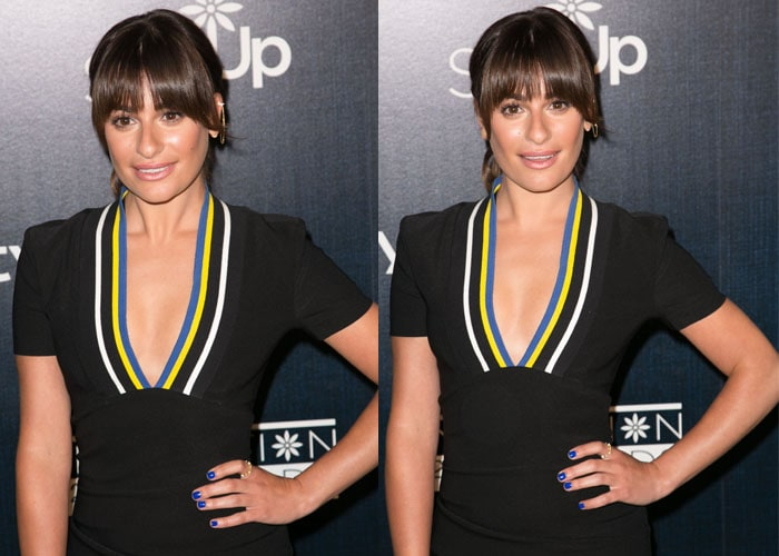 Lea Michele made an appearance at the Step Up Women's Network 2015 Inspiration Awards
