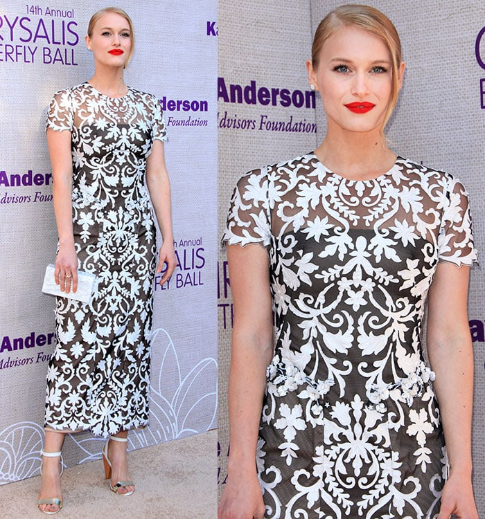 Leven Rambin at the 14th Annual Chrysalis Butterfly Ball held at a private residence