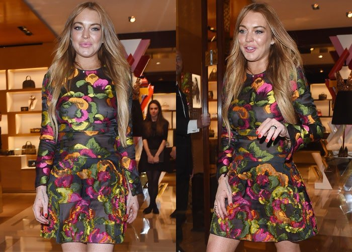 Lindsay Lohan is the former wild child of Hollywood
