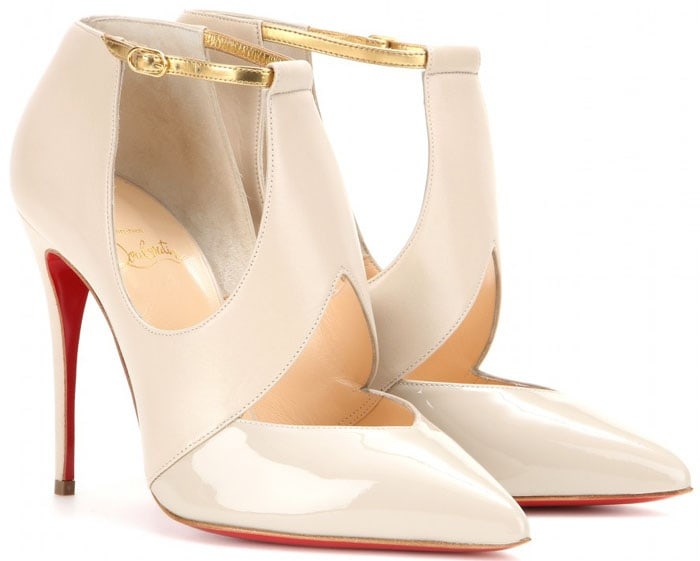 Christian Louboutin Dictata Leather Pumps