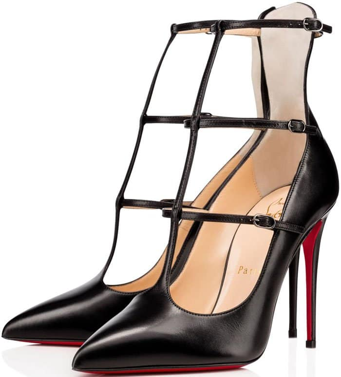 Christian Louboutin Toerless Muse Pumps in Black