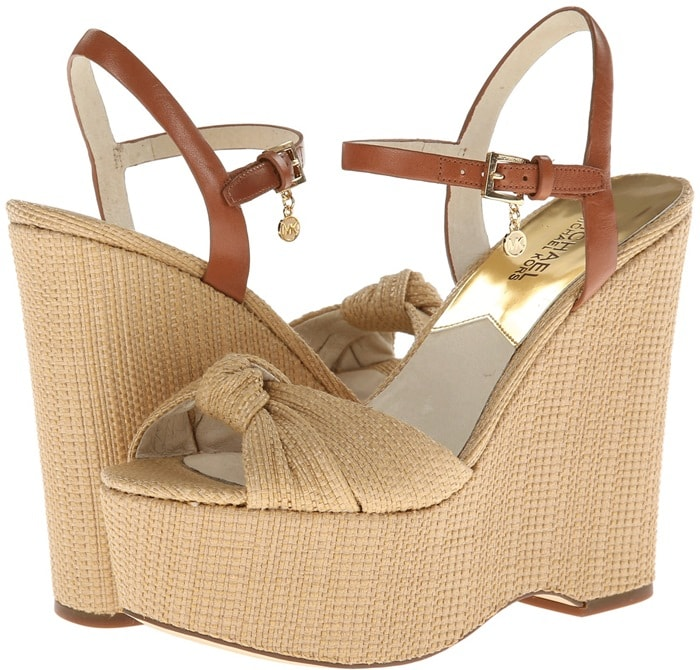 MICHAEL Michael Kors Benji Wedge Natural Soft