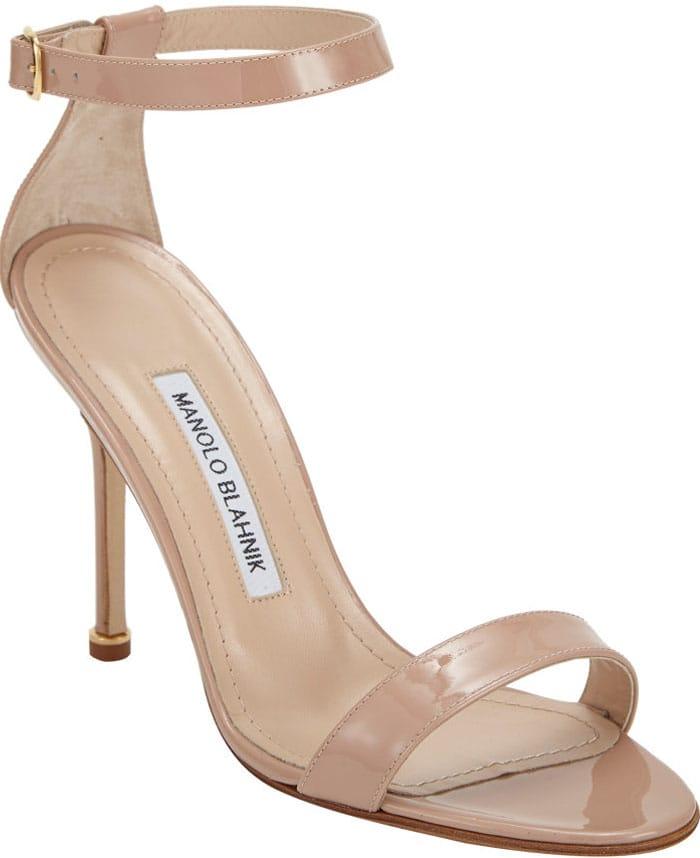 Manolo Blahnik Chaos Ankle Sandals