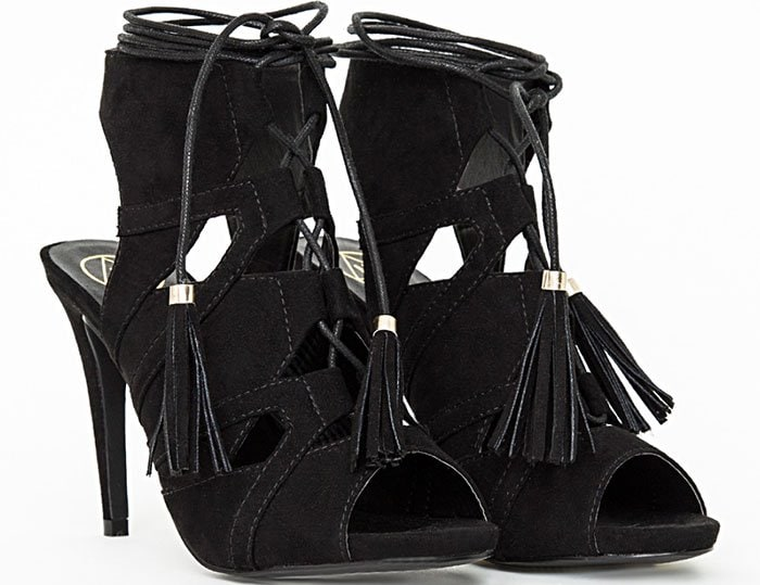 Missguided-Lace-Up-Tassel-Sandals