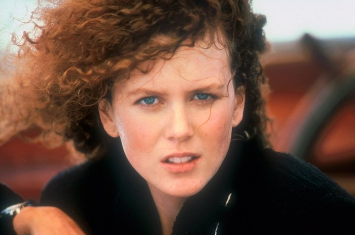 Pictured in the late 1980s, rumors of plastic surgery have surrounded Nicole Kidman for years