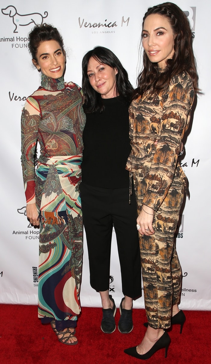 Nikki Reed, Shannen Doherty, and Whitney Cummings at the 2019 Animal Hope & Wellness Foundation's Compassion Gala