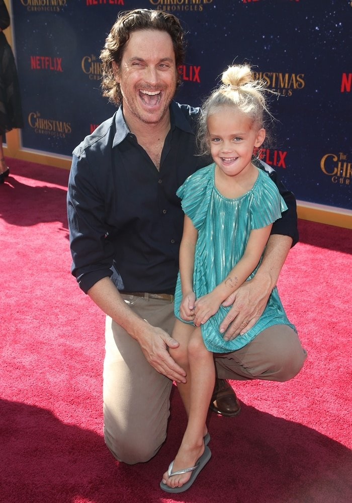 Oliver Hudson and his daughter Rio Laura Hudson