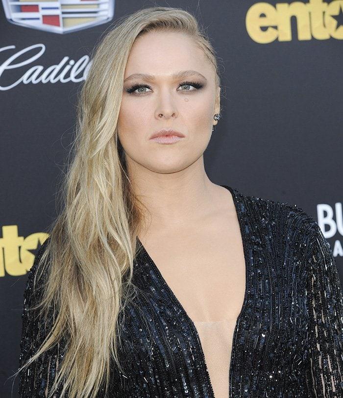 Ronda-Rousey-Entourage-Movie-Premiere