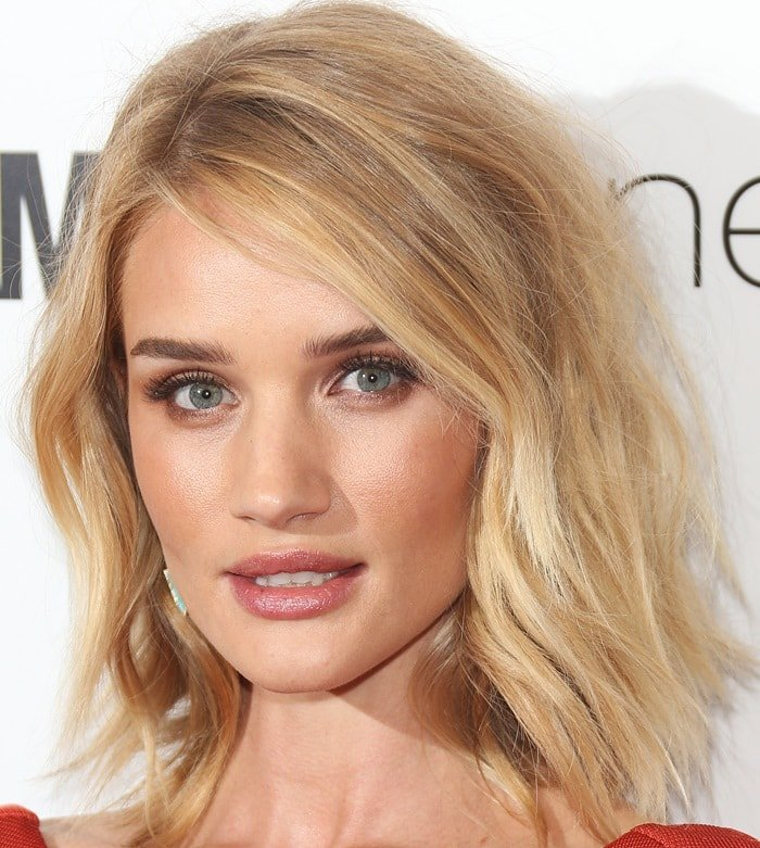 Rosie Huntington-Whiteley at the 2015 Glamour Women Of The Year Awards held at Berkeley Square Gardens in London on June 2, 2015