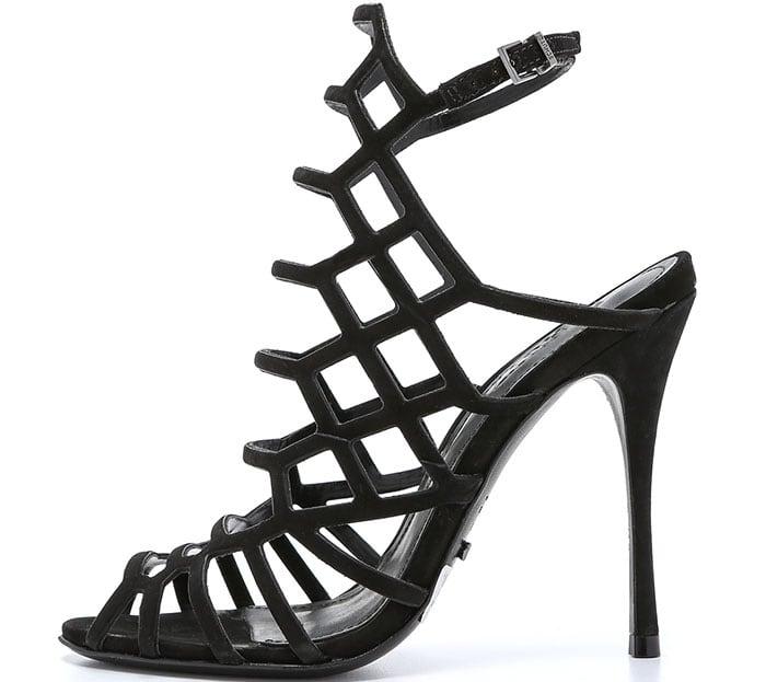 """Schutz """"Juliana"""" Caged Sandals"""
