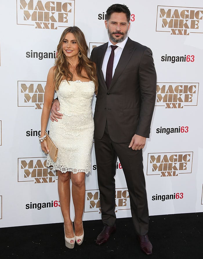 Sofia Vergara supported her fiancé, Joe Manganiello