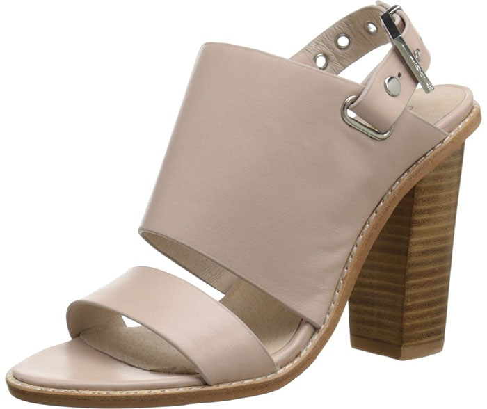 """Sol Sana """"Taylor"""" Sandals in Blush Nude"""
