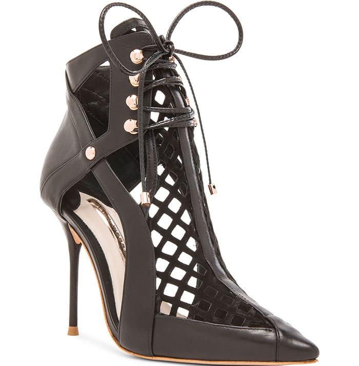 Sophia Webster Jetta Leather Booties