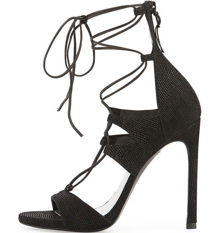 Stuart Weitzman LegWrap Lace-Up Sandals