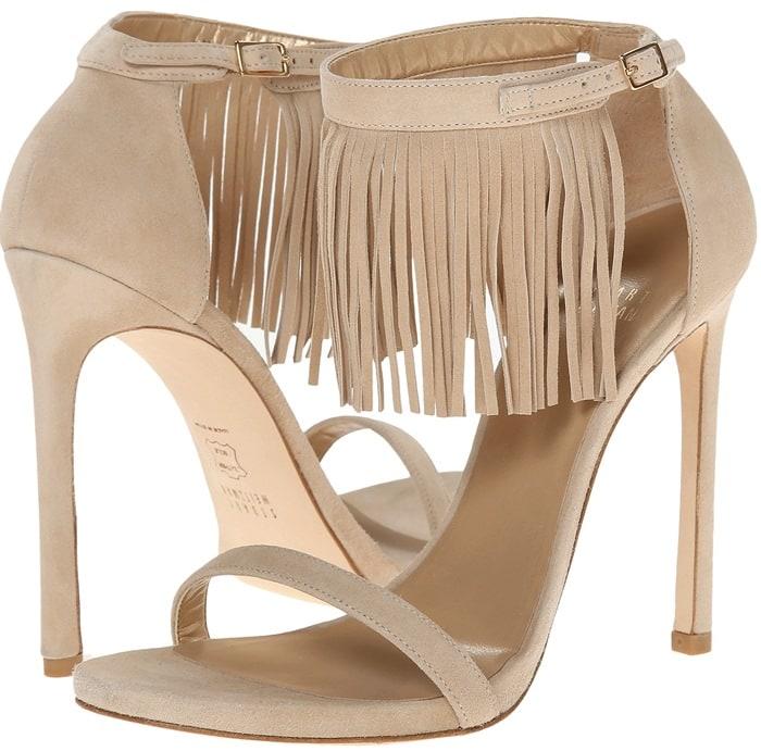 Stuart Weitzman Lovefringe Sandals