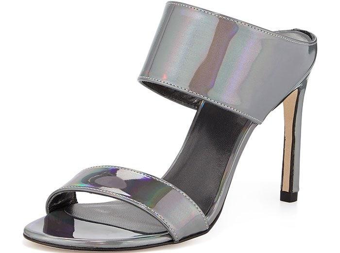 Metallic Specchio Myslide Sandals