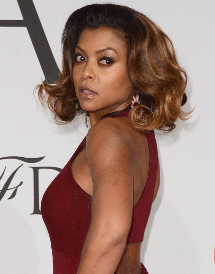 Taraji Penda Henson at the 2015 CFDA Fashion Awards held at Alice Tully Hall at Lincoln Center in New York City on June 1, 2015