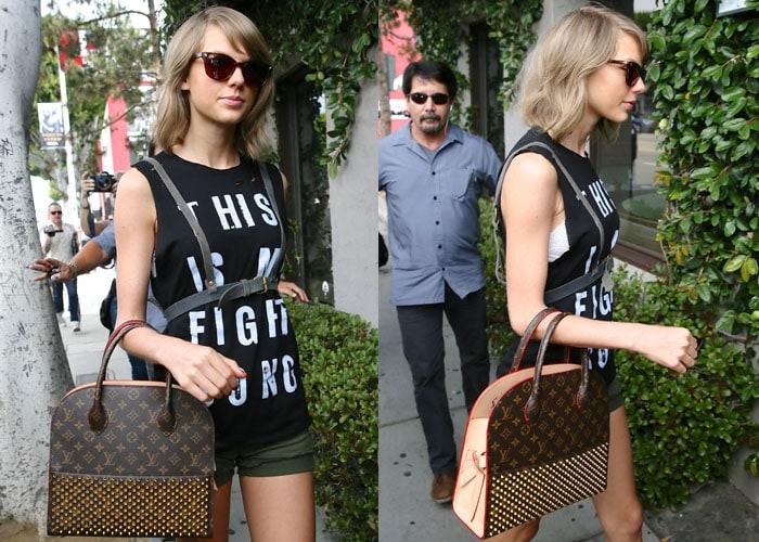 Taylor Swift's statement shirt from Rachel Platten