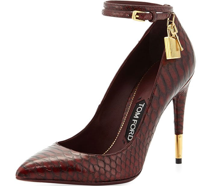 Tom-Ford-Padlock-Ankle-Wrap-Python-Pumps