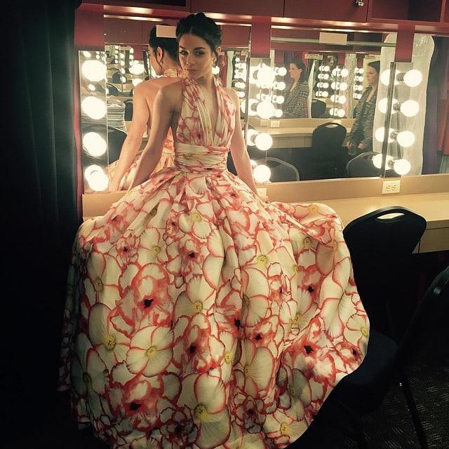 Vanessa Hudgens Naeem Khan spring 2015 gown