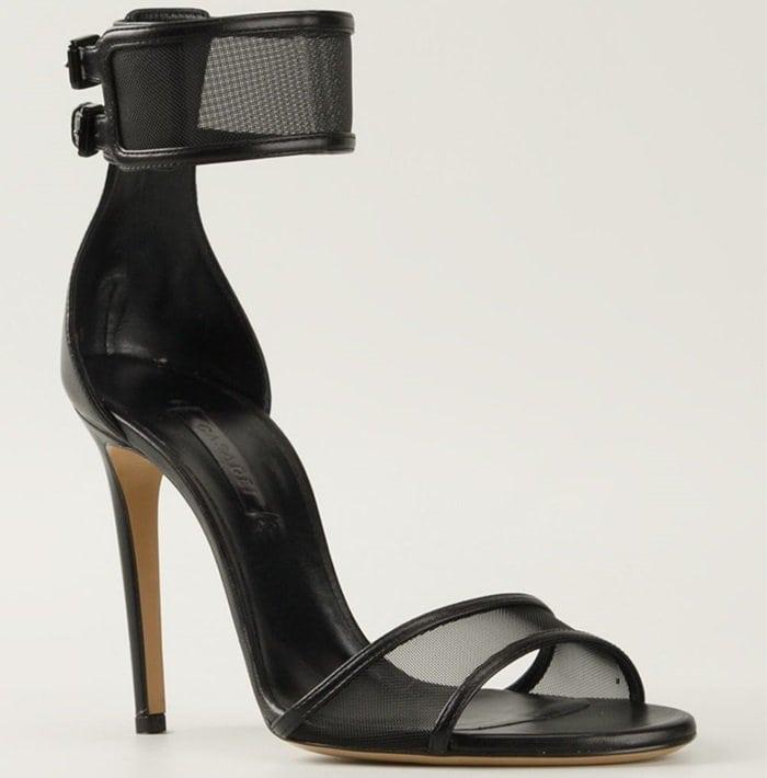Casadei Mesh Strap Sandals