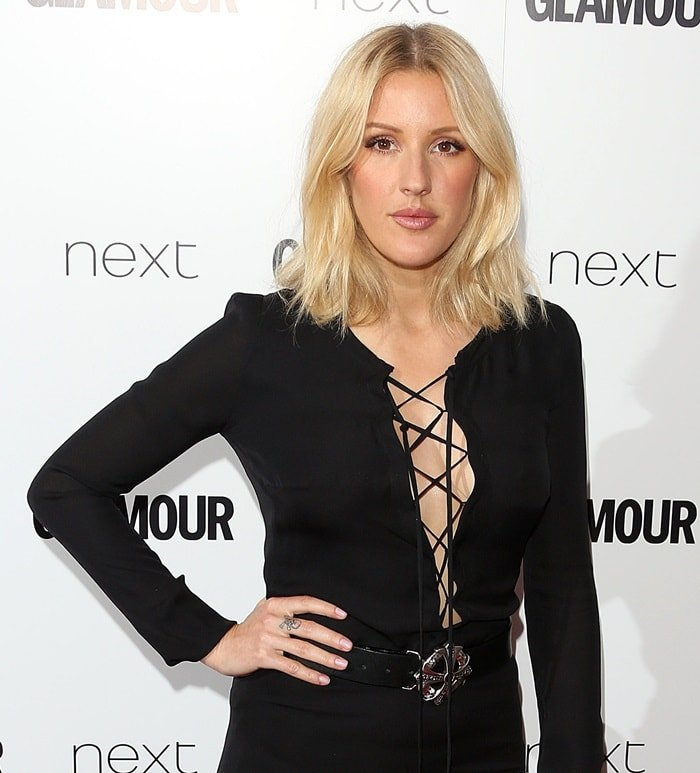 Ellie Goulding at the 2015 Glamour 'Woman of the Year' Awards held at Berkeley Square in London, UK on June 2, 2015