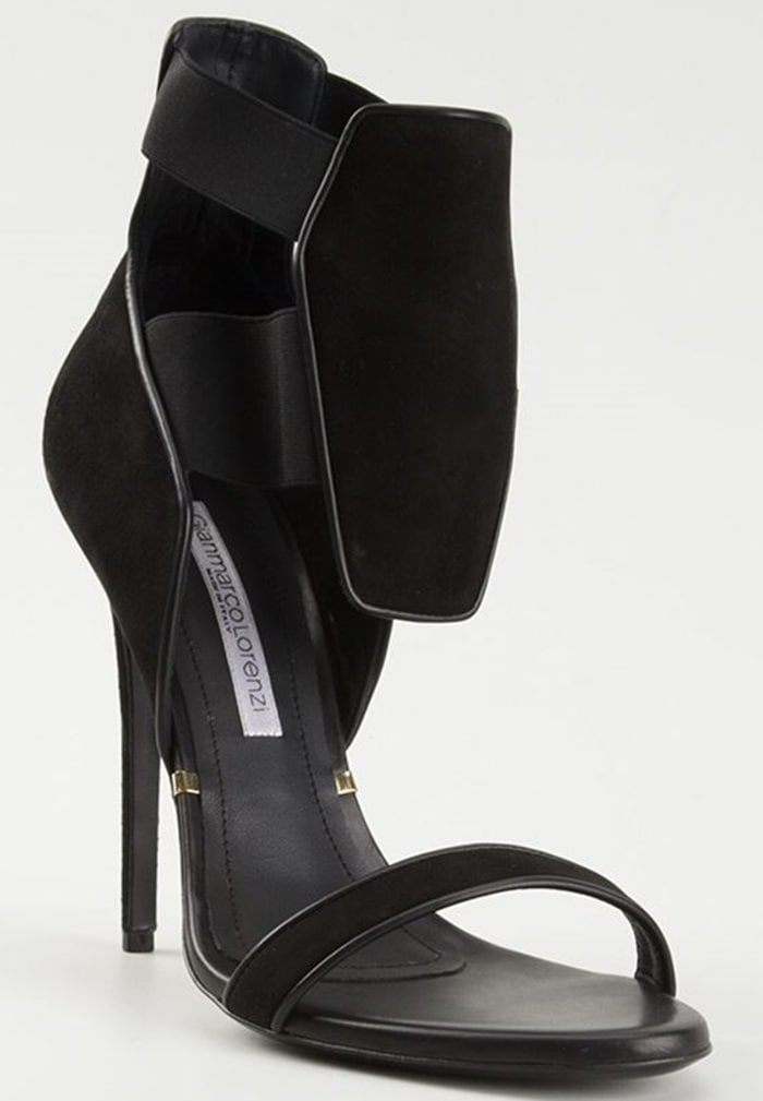 Gianmarco Lorenzi Front Panel Sandals